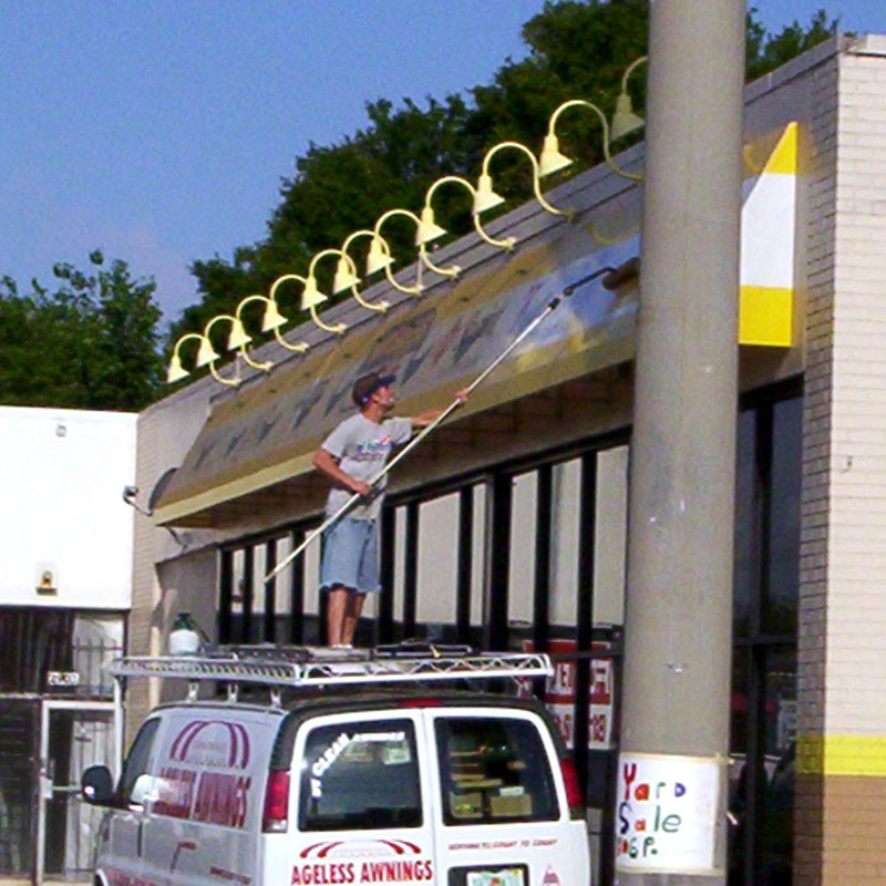 awning cleaning awning repair maintenance tampa bay area